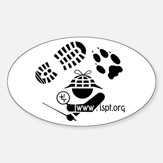 ISPT Icon Oval Decal