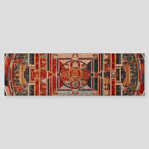 Mandala of the Forms of Manjushri, Bumper Sticker