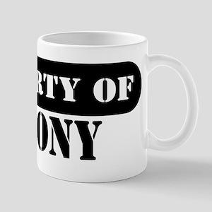 Property of Antony Mug