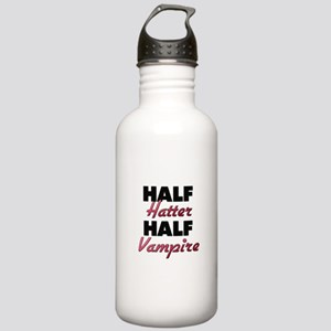 Half Hatter Half Vampire Water Bottle