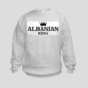 albanian King Kids Sweatshirt
