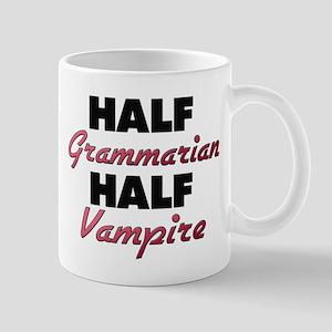 Half Grammarian Half Vampire Mugs