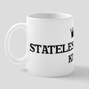 stateless person King Mug