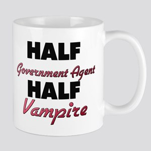 Half Government Agent Half Vampire Mugs