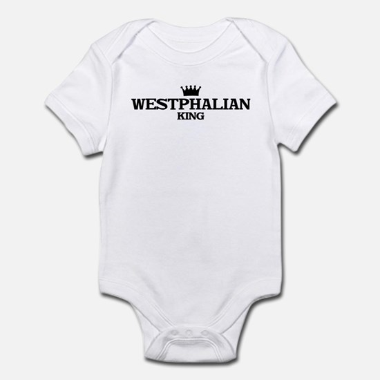 westphalian King Infant Bodysuit