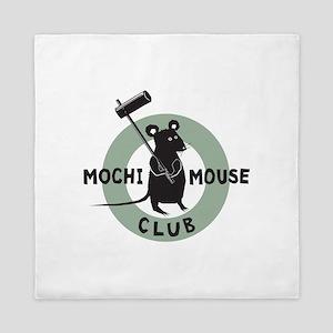 mochi_mouse_front Queen Duvet