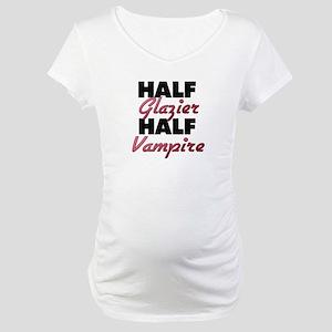 Half Glazier Half Vampire Maternity T-Shirt