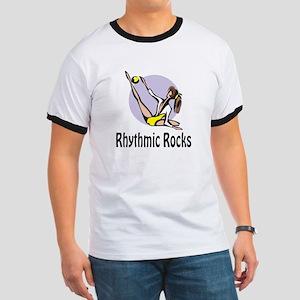"""RhythmicChick """"Rocks"""" Ringer T"""