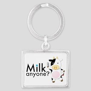 Milk Anyone? Landscape Keychain