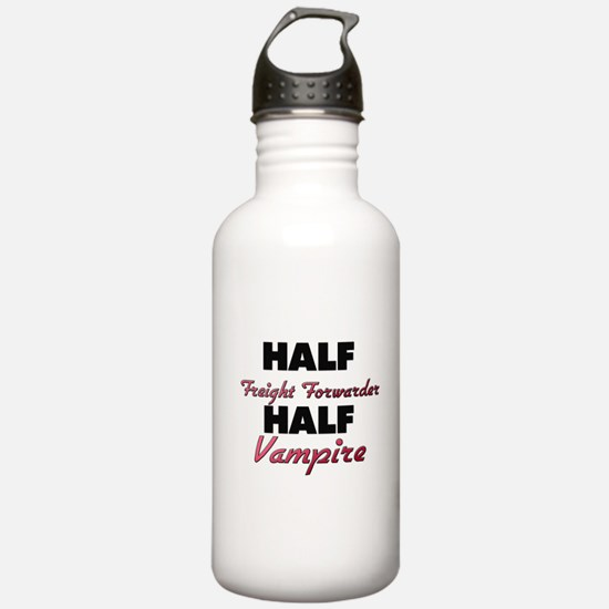 Half Freight Forwarder Half Vampire Water Bottle