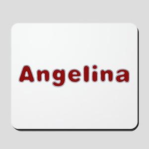 Angelina Santa Fur Mousepad