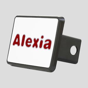 Alexia Santa Fur Rectangular Hitch Cover