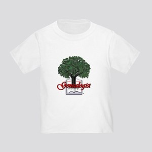 Genealogist Toddler T-Shirt