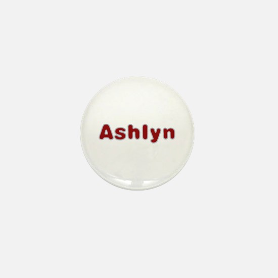 Ashlyn Santa Fur Mini Button