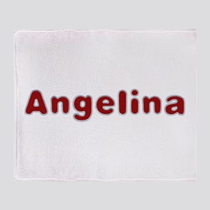 Angelina Santa Fur Throw Blanket