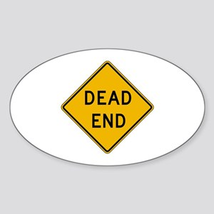 Dead End - USA Oval Sticker