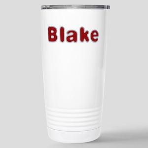 Blake Santa Fur Stainless Steel Travel Mug