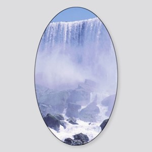 Niagara Falls USA Oval Sticker