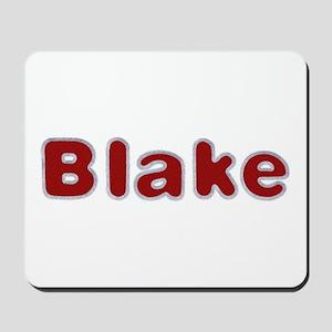 Blake Santa Fur Mousepad