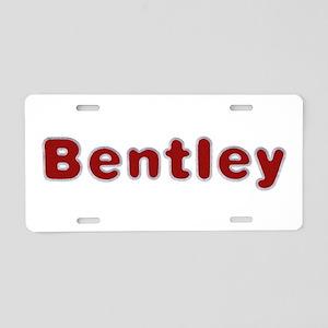 Bentley Santa Fur Aluminum License Plate