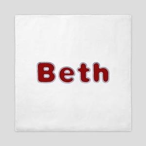 Beth Santa Fur Queen Duvet