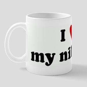 I Love my nibbler Mug