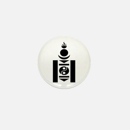 Soyombo Mini Button