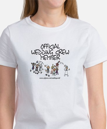 Wedding Crew Member Women's T-Shirt