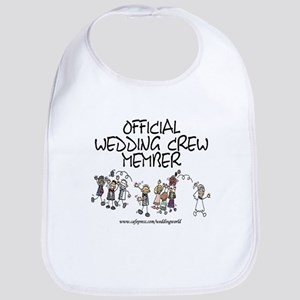 Wedding Crew Member Bib