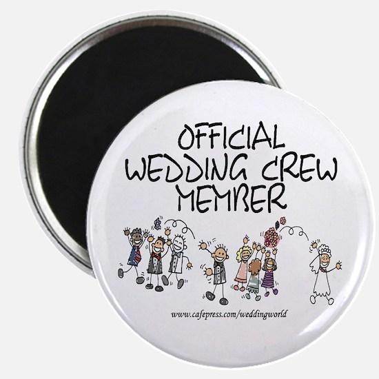 Wedding Crew Member Magnet