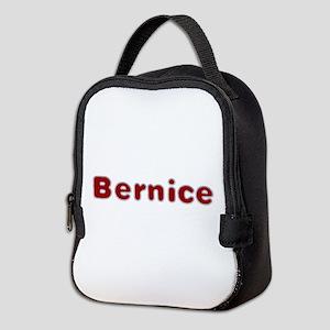 Bernice Santa Fur Neoprene Lunch Bag
