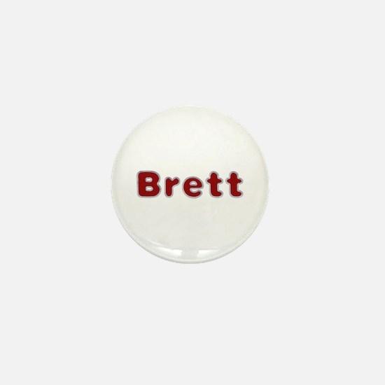 Brett Santa Fur Mini Button
