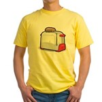 1950s Kenmore Toaster Yellow T-Shirt