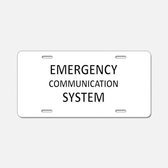 Emergency Communication System - Black Aluminum Li