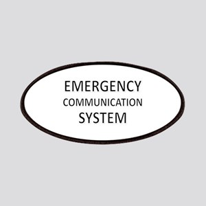 Emergency Communication System - Black Patches