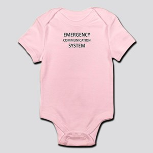 Emergency Communication System - Black Infant Body