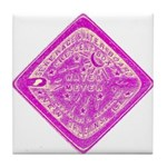 Water Meter Lids Tile Coaster