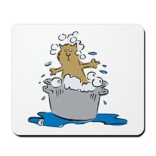 Cat Bath II Mousepad