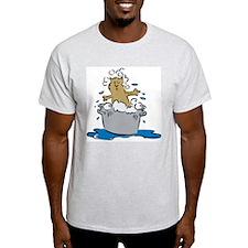 Cat Bath II Light T-Shirt