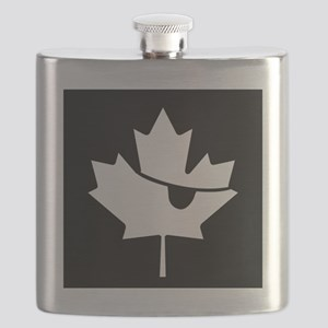 Canadian Pirate Flask