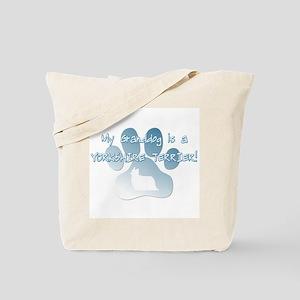 Yorkshire Terrier Granddog Tote Bag