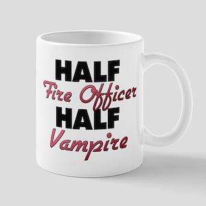 Half Fire Officer Half Vampire Mugs