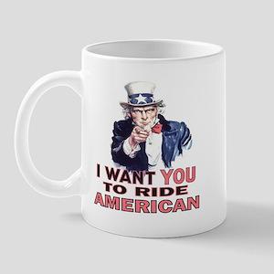 Ride American Mug