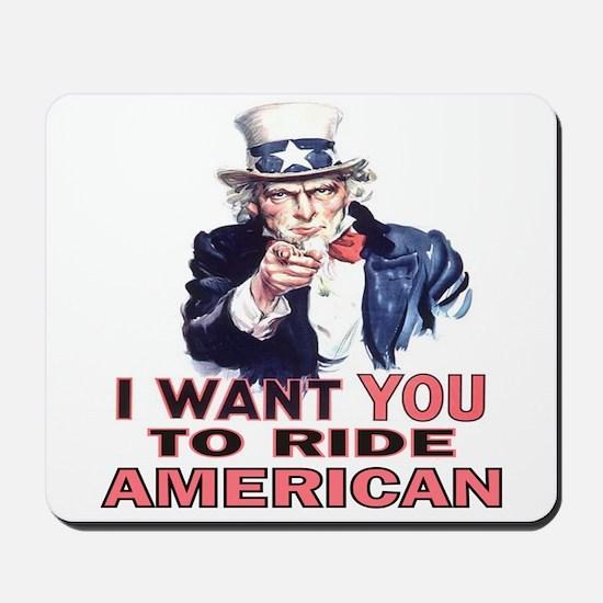 Ride American Mousepad