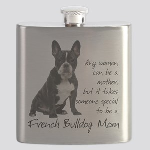Frenchie Mom Flask