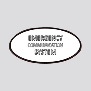 Emergency Communication System - White Patches