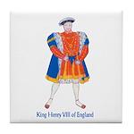 King Henry VIII Tile Coaster