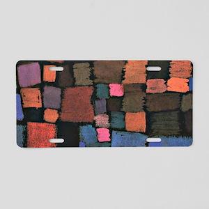 Paul Klee - Coming to Bloom Aluminum License Plate