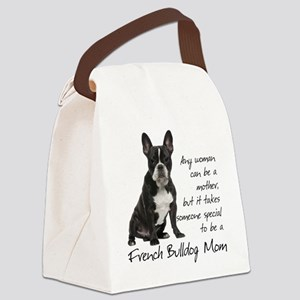 Frenchie Mom Canvas Lunch Bag
