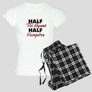 Half Fbi Agent Half Vampire Pajamas